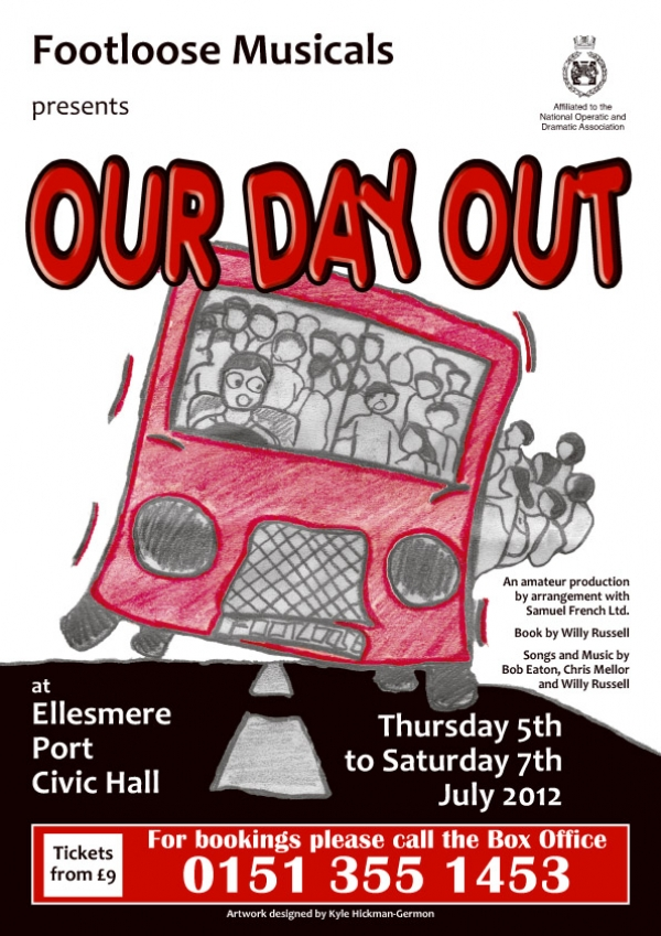 "Footloose Musicals Present ""OUR DAY OUT"""