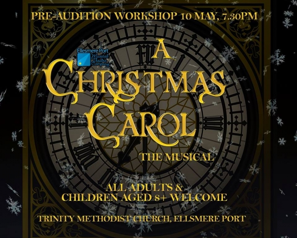 Christmas Carol Auditions