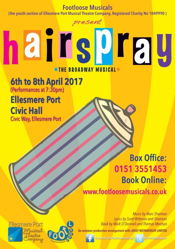 Footloose Musicals present HAIRSPRAY