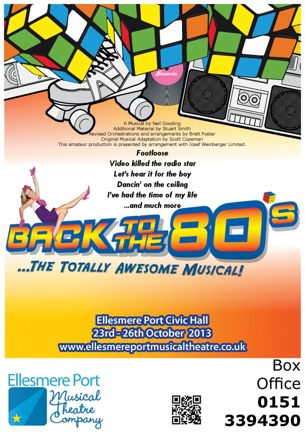 Have you booked for Back to the 80's?