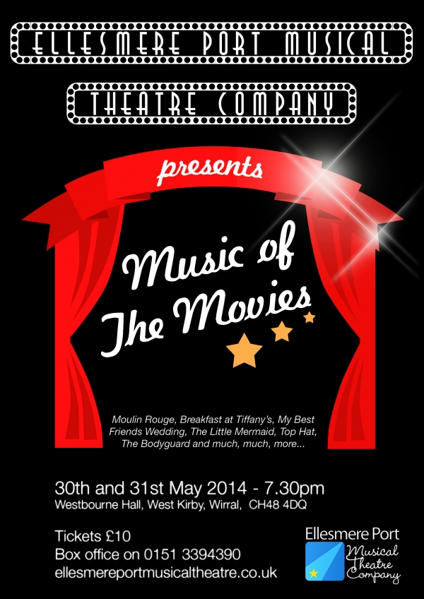 Music of the Movies - At Westbourne Hall, West Kirby