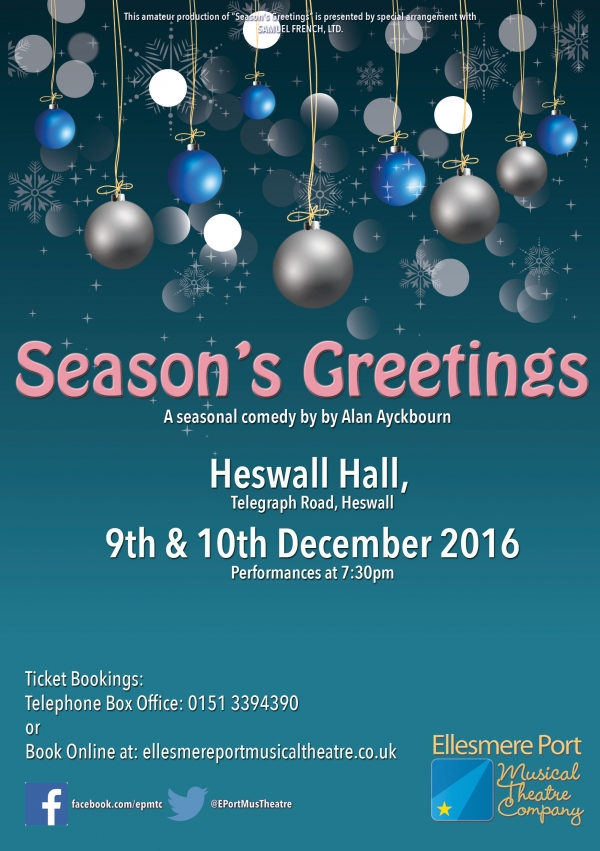 Season's Greetings by Alan Ayckbourn