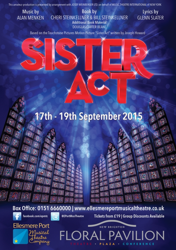 SISTER ACT - at the Floral Pavilion
